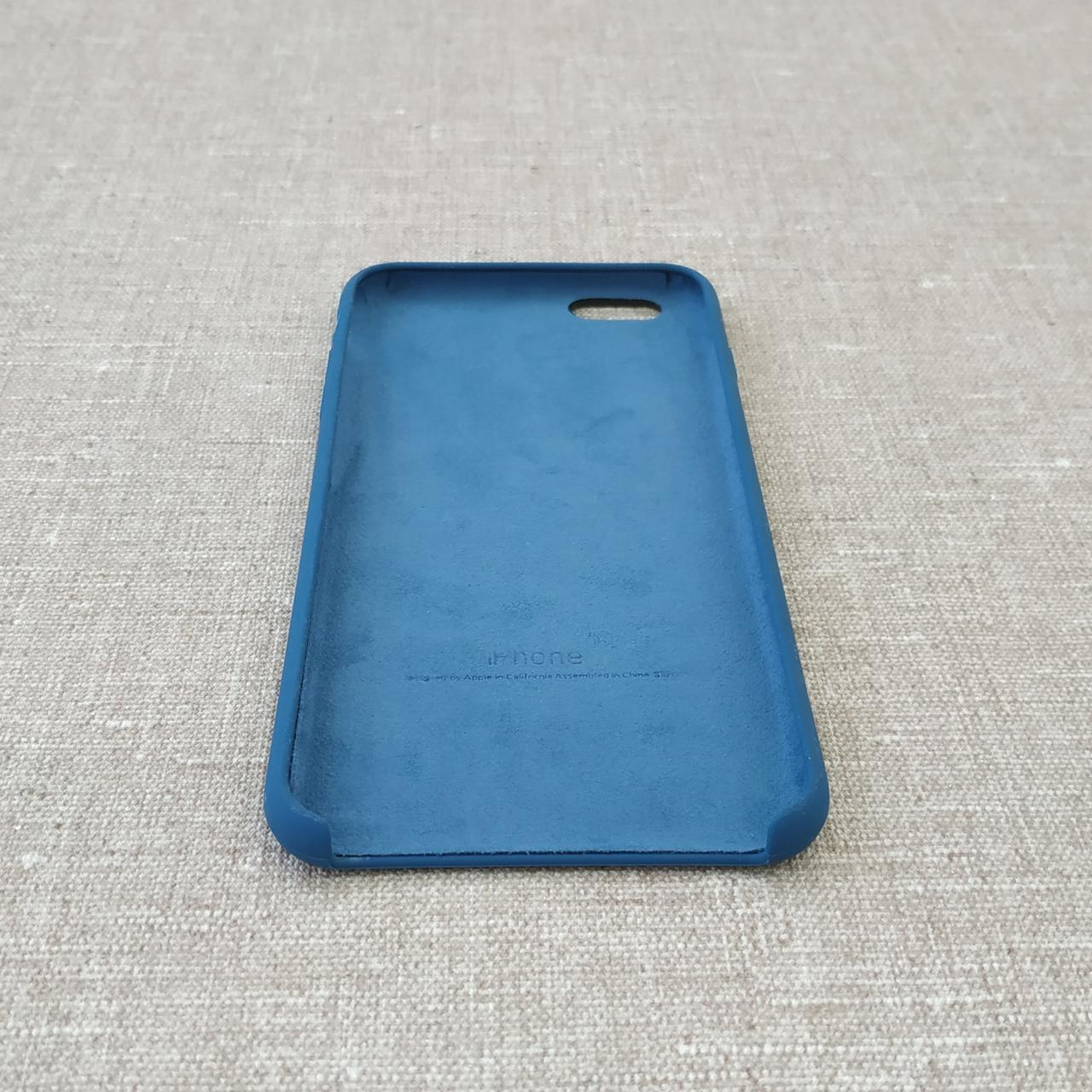 Накладка Apple iPhone 6 Plus blue Для телефона Чехол