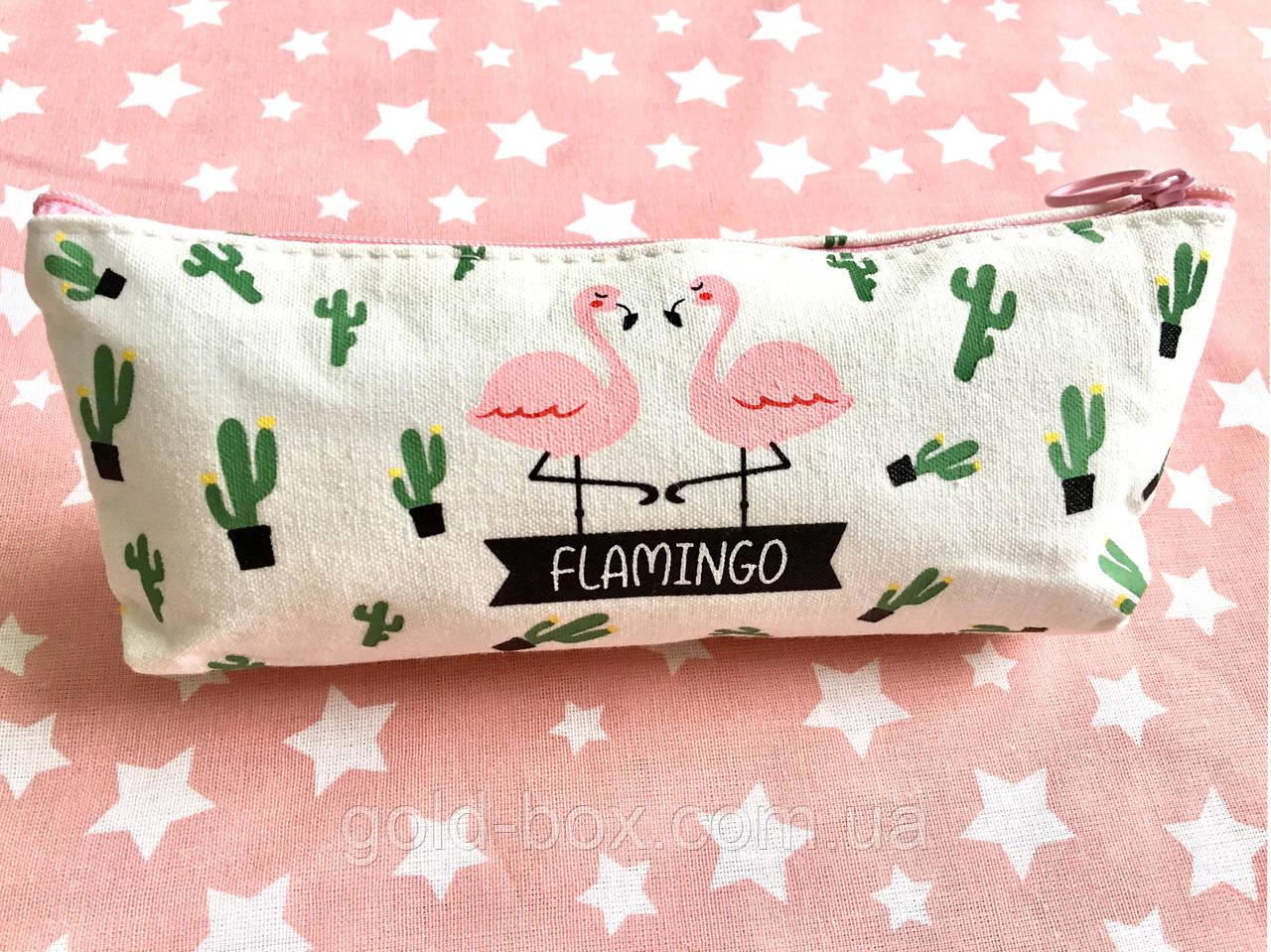 Пенал Косметичка Flamingo