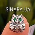 Серебряный подвес шарм Pandora Сова - Шарм Сова серебро, фото 3