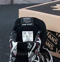 Кеды высокие унисекс черные Vans SK-8 Nintendo (реплика), фото 3