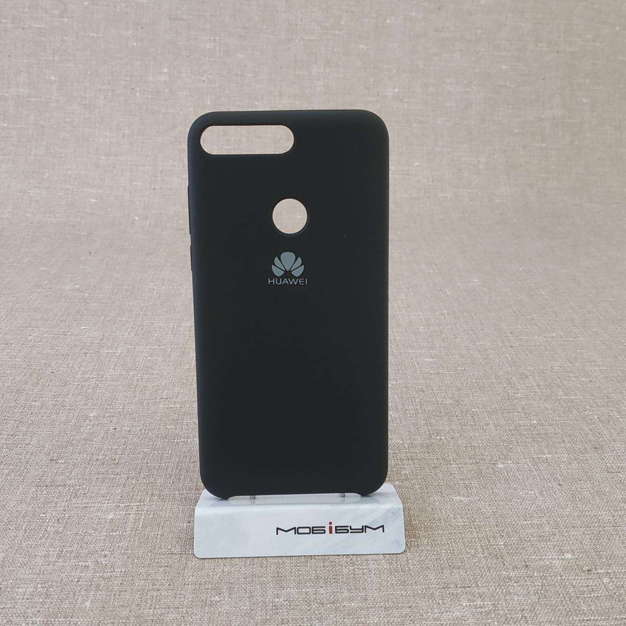 Чехол Original Soft Huawei Y7 Prime 2018 black