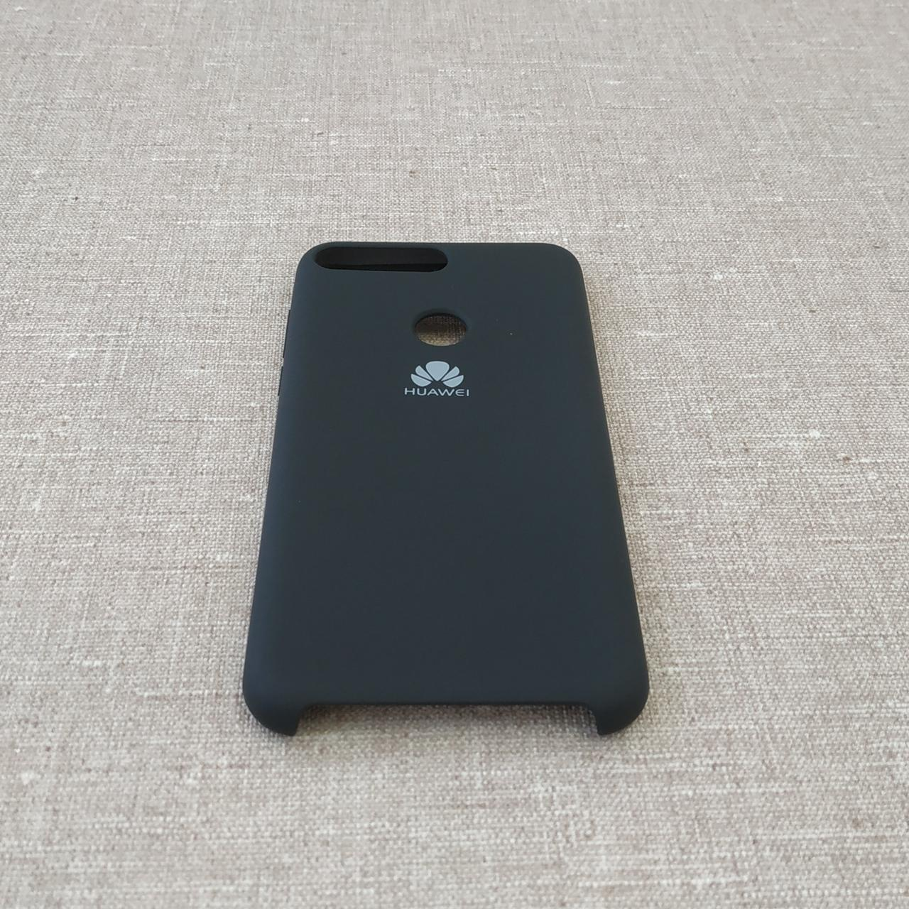 Чехлы для Huawei Original Soft Y7 Prime 2018 black