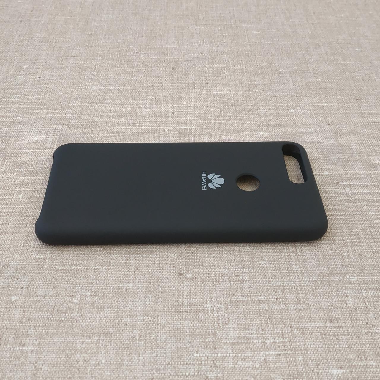 Original Soft Huawei Y7 Prime 2018 black