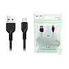 Кабель microUSB Hoco X13 Easy Charge 1м Black
