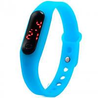 Часы наручные LED Watch 004 Mini голубые