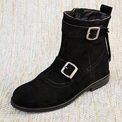 Чоботи замшеві черевики, Кайрос розмір 31 32 33 35