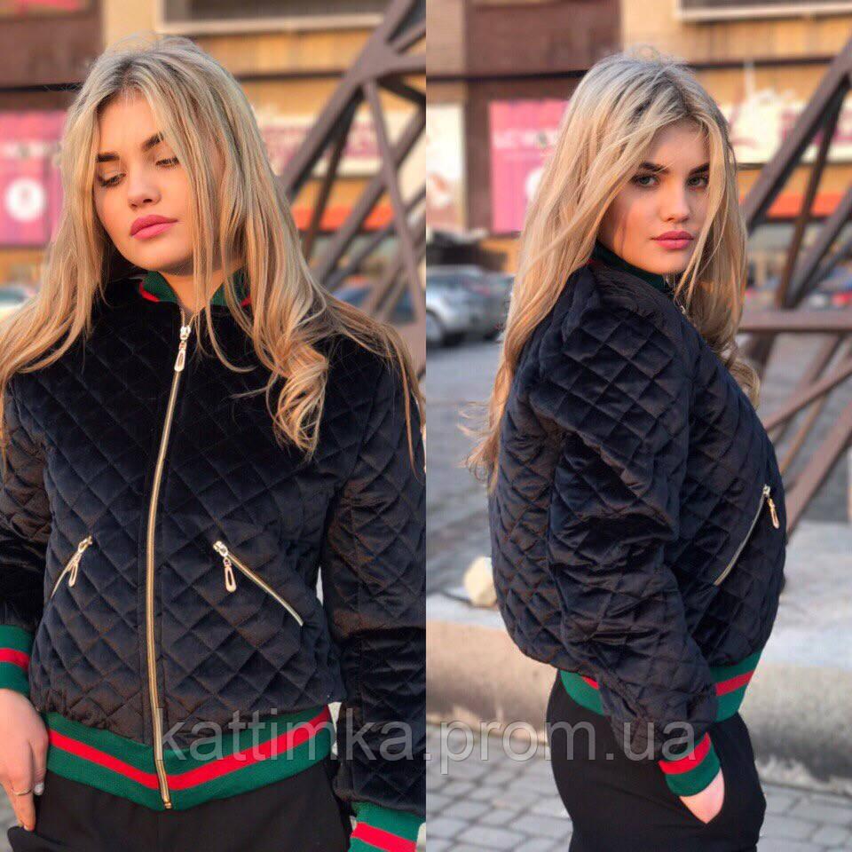 Самая модная в этом сезоне куртка- бомбер из бархата - купить по ... 336e7bbb877