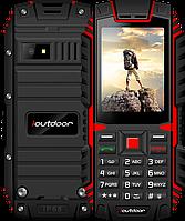 """IOutdoor T1, IP68, 2100 mAh, усиленный сигнал связи, качественный динамик, 2 Mpx, 2 SIM, MP3, FM, дисплей 2.4"""", фото 1"""