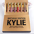 Набор матовых помад /набір матових помад Kylie Jenner /Кайли Дженнер / Kylie Jenner Birthday Edition, фото 5