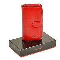 Женские кожаные кошельки Alessandro Paoli  Красный