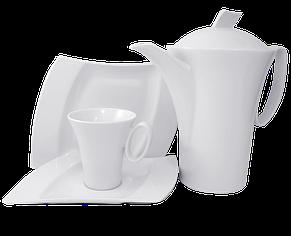 Чайный сервиз конусный 4 предмета , фото 2