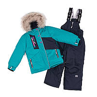 Зимний комплект для девочки NANO F18 M 280 New Paon. Размеры 5-12., фото 1