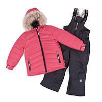 Зимний комплект для девочки NANO F18 M 282 Fraise. Размеры 12 мес-10., фото 1