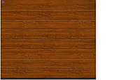 Ворота секционные гаражные decocolor, Golden Oak херман 2750 x 2125 мм, фото 1