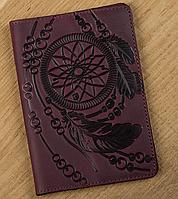 Обложка на паспорт SHVIGEL 13835 Бордовый, Бордовый, фото 1