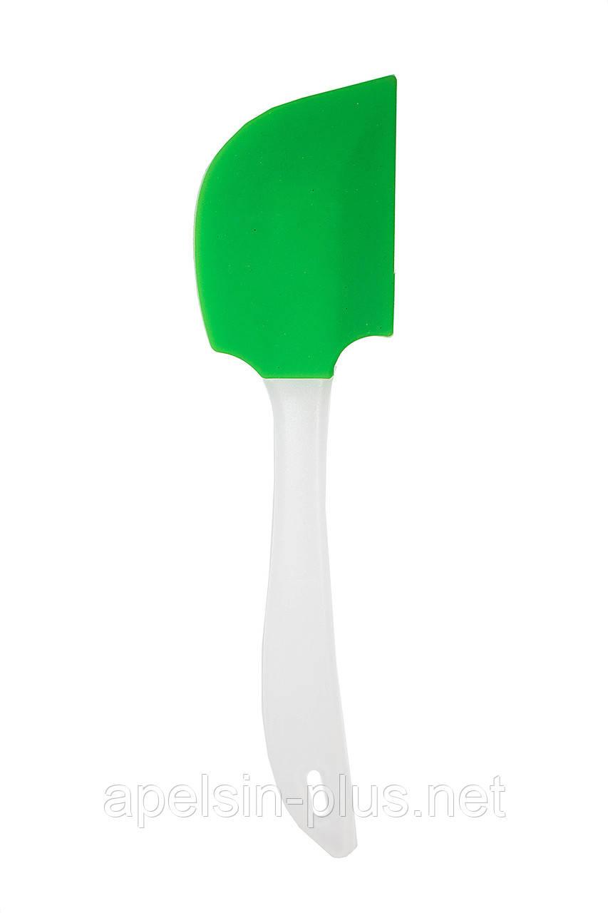Силиконовая кондитерская лопатка - нож 27 см