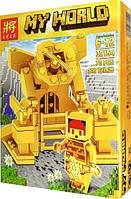 Конструктор Lele My World 33154 Золотая серия