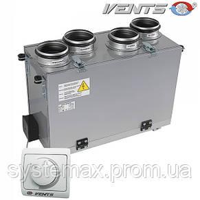 ВЕНТС ВУТ 200 В мини: приточно-вытяжная установка (вертикальная), фото 2