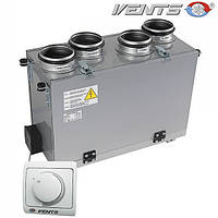 ВЕНТС ВУТ 300 В мини: приточно-вытяжная установка (вертикальная)