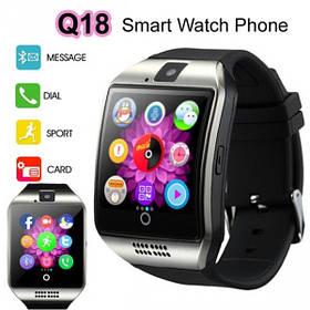 Смарт часы (Smart Watch) Умные часы Q18 silver