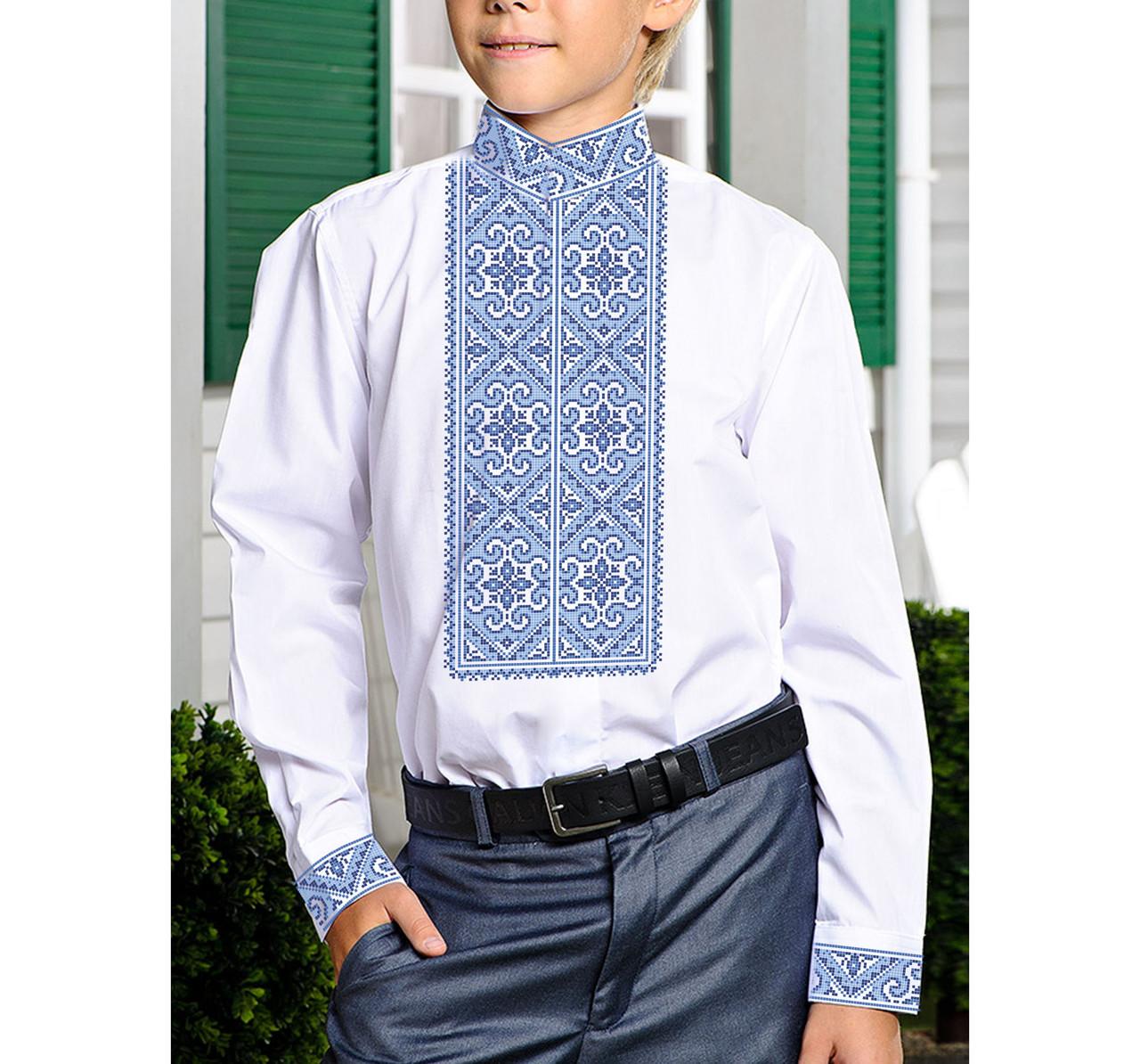 Заготовка дитячої сорочки та вишиванки для вишивки бісером для хлопчиків Бисерок «Х-519г» (Х-519г)