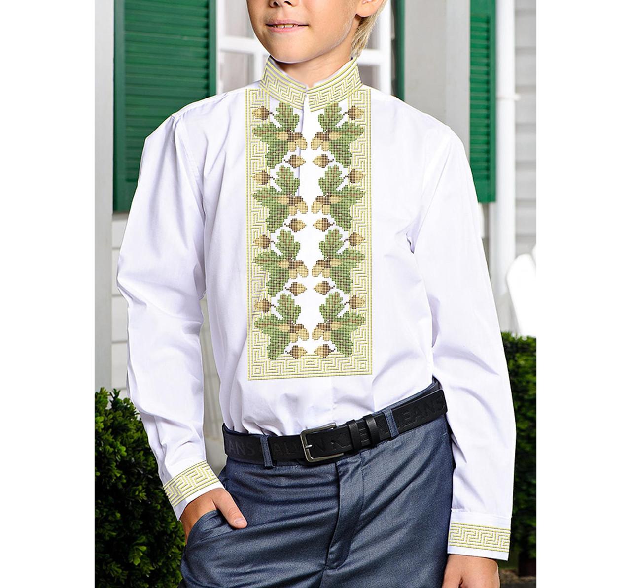 Заготовка дитячої сорочки та вишиванки для вишивки бісером для хлопчиків Бисерок «Х-520» (Х-520)