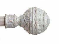 Арабеска 19мм белое золото