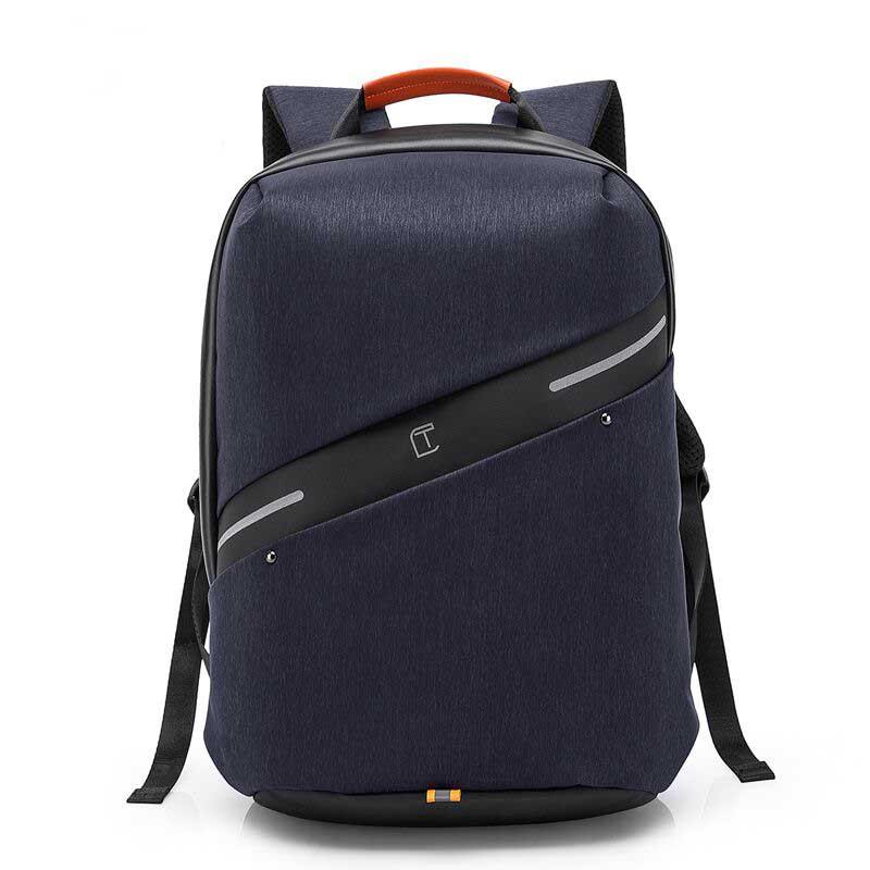 Рюкзак Casual с водоотталкивающим покрытием синий