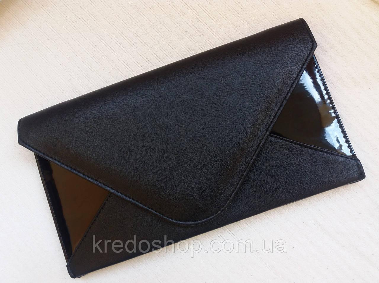 1f7813835b9d Женский клатч черный стильный для торжества (Турция) - Интернет-магазин  сумок и аксессуаров