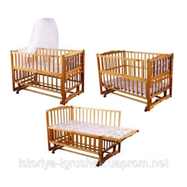 Детская кровать Geoby LM 604 SА