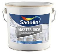 Краска Sadolin MASTER BASE -  грунтовочная краска, белый BW, 2,5 л.