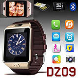Смарт-часы (Smart Watch) Умные часы DZ09 gold, фото 8