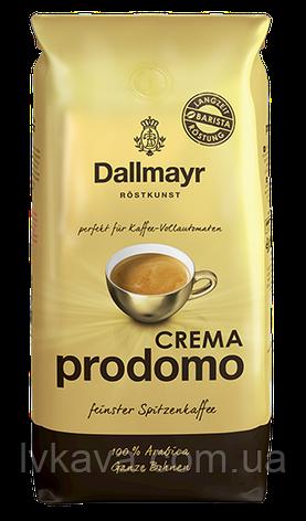 Кофе в зернах  Dallmayr Crema Prodomo  ,  1 кг, фото 2