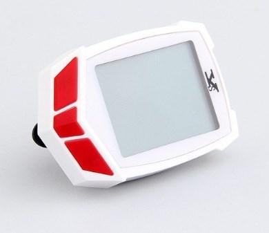 Велокомп'ютер Cycloving 661c безпровідний одометр спідометр, чорно-червоний, біло-червоний