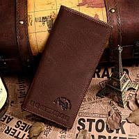 Бумажник мужской Vintage 14129 Коричневый, Коричневый, фото 1