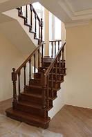 Обшивка деревом металлокаркасов и бетонных лестниц, , фото 1