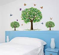 """Интерьерная наклейка на стену """"Деревья"""""""