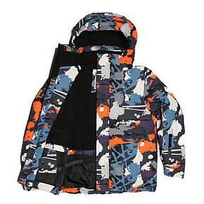 Детская зимняя мембранная термокуртка для мальчика от 6 до 14 лет DISUMER (SNOWEST), фото 2