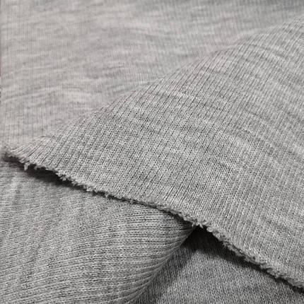 Довяз трикотажный светло-серый, фото 2