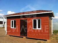 Бытовки строительные, бытовки для дачи 6х2.4м
