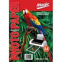 """Фотобумага """"Magic"""" глянцевая, А4, плотность 150 гр/м2, 100 листов"""