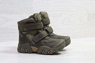 Зимние ботинки Clibee,на меху,хак 29,30