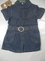 Джинсовый сарафан для девочек, размеры 1 лет, арт. 9947