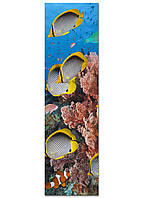 Фотокартина на холсте Рыбки, 50*180 см