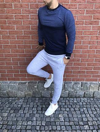 Спортивный костюм с брюками светло-серого цвета, фото 2