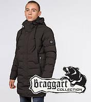 """Кофейная зимняя куртка на подростка Braggart """"Teenager"""" (Браггарт)"""