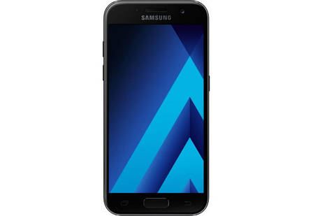 Samsung A3 2017 F/DS  Black Sky (12 месяцев гарантия), фото 2