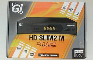 Galaxy Innovations GI HD Slim 2M  HD ресивер  + бесплатная прошивка!