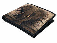 Кошелек STINGRAY LEATHER 18127 из натуральной кожи морского ската, Разноцветный, фото 1