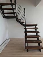 """Деревянные ступени для лестницы в стиле """"Лофт"""""""